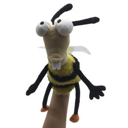 Chinese  Children Animals Hand Puppet Toy Classical Kawaii Hand Puppet Novelty Cute Bee Muppet Plush Dolls Gift Kids Dolls & Stuffed Toys manufacturers