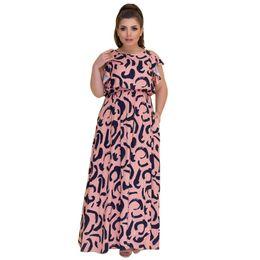 5XL 6XL Big Size Summer Long Dress Women Floral Print Plus size maxi Dress  Sexy Hollow out Casual Women Dresses Party Vestidos 572de2747174