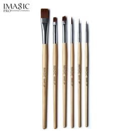 Painting Faces UK - IMAGIC brush Body painting paint brush painting face paint set make up tools