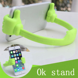 Ok Stand For Tablet Australia - Upgrade Universal phone Holder OK Stand holder for Smart Phone For ipad tablet pc holder retail package