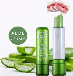Fruit Lipstick Australia - Sexy Lip Balm Aloe Vera Fruit Flavor Magic Colour Temperature Change Color Lipstick Moisturizer Protection Lips Makeup