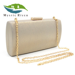 red gold clutch Australia - Mystic River Gold Blue Red Silver 7 Colors Clutch Purses Ladies Wedding Party Purses Women Day Clutches Bags