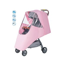 China Baby Stroller Rain Cover Children's Stroller Rain Cover Universal Wind Preventing Accessories cheap stroller rain covers suppliers