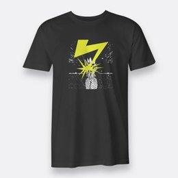 punk band tees Australia - Daves Bad Brains Pineapple Punk Band T-Shirts Tees For Men's Black S-XXXL Size
