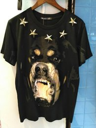 $enCountryForm.capitalKeyWord Canada - High New Novelty 2017 Punk Men Fashion T Shirts Rottweiler Print T-Shirt Hip Hop Skateboard Street Cotton T-Shirts Tee Dog