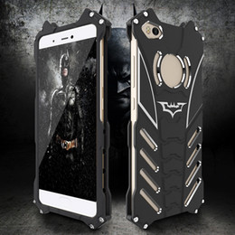cases for iphone batman NZ - 360 Protection Matte Batman Metal Stent Shell Aviation Aluminum Phone Cover Hollow Out Buffer Frosted Case for iPhone XS Max Samsung Huawei