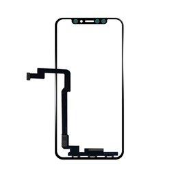 (MOQ 10 Pcs) Touch Screen Painel Frontal Painel de Vidro Digitador Para iPhone X LCD Painel Externo Navio De Substituição via DHL em Promoção