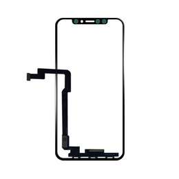 Moq Screen Australia - (MOQ 10Pcs) Touch Screen Digitizer Front Glass Panel For iPhone X LCD Outer Panel Replacement Ship via DHL