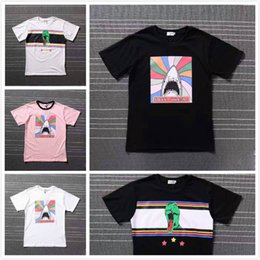 e8e5bf96 Women Men T Shirt dinosaur shark Print Black T shirt Brand Clothing Hip Hop  Swag Short Tshirt Men Tee Kanye West Cotton Short Sleeve T Shirt