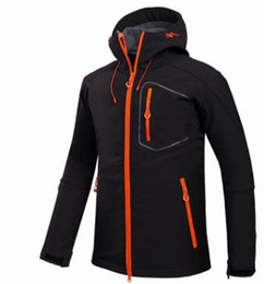 Discount waterproof thermal jackets - Outdoor Shell Jacket Winter Brand New style Hiking Softshell Jacket Men Windproof Waterproof Thermal For Hiking Camping
