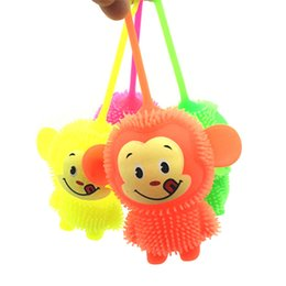 $enCountryForm.capitalKeyWord UK - Flash ball little monkey light-emitting toys for children Hip-hop monkey vent ball children gifts