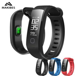 "$enCountryForm.capitalKeyWord Canada - Makibes HR1 Smart Bracelet Heart Rate Monitor Fitness Activity Tracker Continuous 0.96"" OLED Wristband For Android ios"