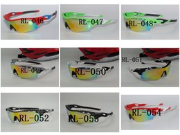 purple ski goggles UK - Best Quality TR90 Ski Goggles Sun Glasses Outdoor Sports Bicycle Bike Sunglasses 5 Lens Uv400 Polarized Myopia Cycling