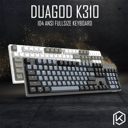 Cherry meChaniCal keyboard online shopping - durgod taurus k310 mechanical keyboard using cherry mx switches pbt doubleshot keycaps brown blue black red silver switch