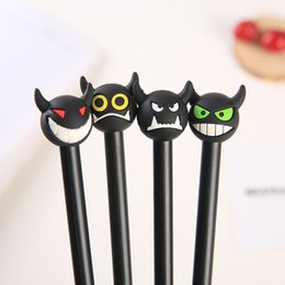 stationery Australia - Free DHL Creative Ballpoint Pens Cute Cartoon Chick Emoji Gel Pen Novelty Office Stationery Student Signature Pen For Kids Xmas Gift H441R F