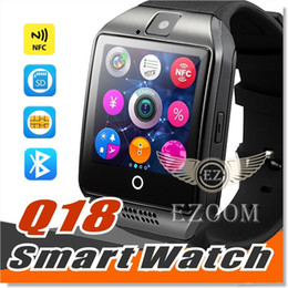 $enCountryForm.capitalKeyWord Australia - TOP Quality Q18 Bluetooth Smart Watch Support SIM Card NFC Connection Health Smartwatches For Android Smartphone With Retail Package