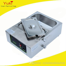 melting chocolate NZ - Double Cylinder Chocolate Melting Machine Electric Commercial Chocolate Melting Pot Electric Chocolate Melt Tank Stainless Steel