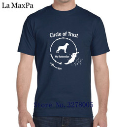 $enCountryForm.capitalKeyWord Canada - La Maxza Character Men T Shirt Casual Rottweiler Circle Of Trust T-Shirt For Men Normal Tee Shirt Homme 2018 Big Sizes Famous