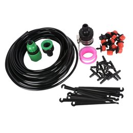 Wholesale 10M Micro Drip Irrigation System Plant Watering Garden House Watering Kits With Adjustable Dripper Smart Controller Suits
