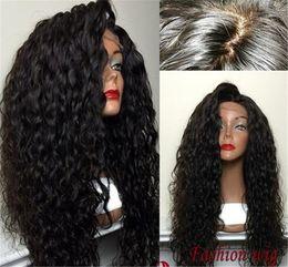 Kinky Curly Human Hair Afro Wigs Australia - Kinky Curly Full Lace Wig Brazilian Virgin Hair Full Lace Human Hair Wigs For Black Women Afro Kinky Curly Full Lace Front Wigs
