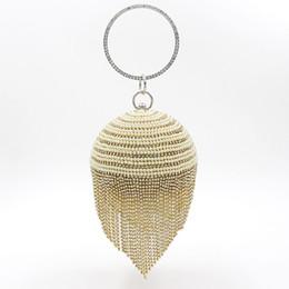 Torebka Woman ClutchBag of Pearl Diamond Tassel Bankiet Torebki ręcznie robione dobrej jakości dla nowożeńców i pani na imprezach / ślubnej sprzęgła