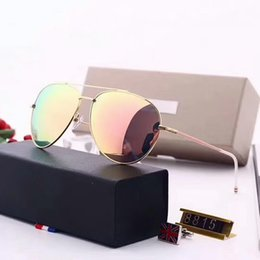 Flash Drive Brands NZ - Hot Brand Designer Polarized Sunglasses Classic Sun glasses for Men Women Driving tom glasses UV400 Metal Frame Flash polaroid Lens