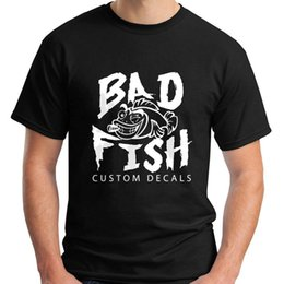 Man S Clothes Australia - New Bad Fisher White Black Men's T-Shirt Size S-3XL Men 2018 Brand Clothing Tees Casual Top Tee T Shirt Hot Sale Clothes