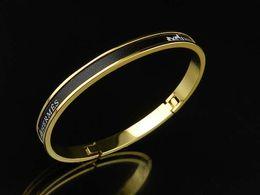Coral Beads China Australia - Quality Celebrity design bracelet metal Clover Cuff Bracelets Jewelry With Box