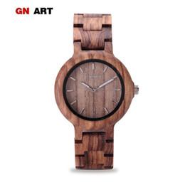 92524a109c5 099 Relógio De Madeira Das Mulheres Relógios De Madeira para a Marca de Quartzo  Relógio de arte Criativa Pulseira Das Mulheres Y18102310