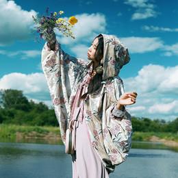$enCountryForm.capitalKeyWord Canada - Original Design New Arrival Spring 2018 vintage oversize hooded sequined floral embroidered velour cloak coat women