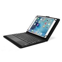 tablets qwerty NZ - Touchpad Executive Wireless Bluetooth Keyboard Detachable For Huawei MediaPad M2 10.1 QWERTY Carrying Case Tablet Cover Stand