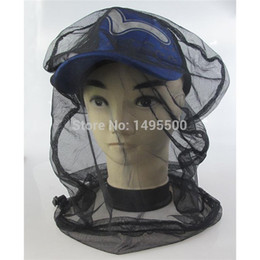 Fish protect online shopping - Black Mosquito Bug Insect Bee Mesh Head Net Protect Hat Fishing Camping Hunting mosquito head net mask