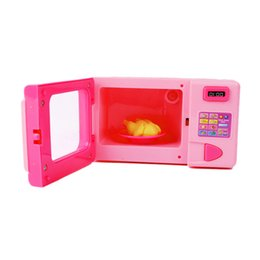 $enCountryForm.capitalKeyWord UK - Children Kid Mini Cute Pink Microwave Oven Pretend Role Play Toy Educational For Children Role Playing Kitchen Toys