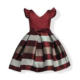 2ff2838d67d Baby Girl Elegant Wedding Princess Dress Christmas Kids Party Dresses for  Girl Costume Children Clothing 4 6 8 10 11 Years