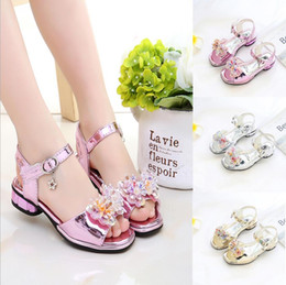 $enCountryForm.capitalKeyWord Australia - Girls Sandals 2018 Summer New Child Sequin Princess Shoes Large Child Korean Little Girl Baby Shoes Baby Shoes
