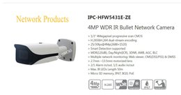 Ipc Free Canada - Free Shipping DAHUA Security Outdoor Camera 4MP WDR IR Bullet Network Camera with POE without Logo IPC-HFW5431E-ZE