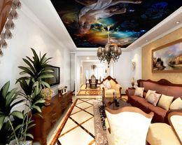 $enCountryForm.capitalKeyWord NZ - wall papers home decor for kids Athena goddess sky zenith murals modern wallpaper for living room
