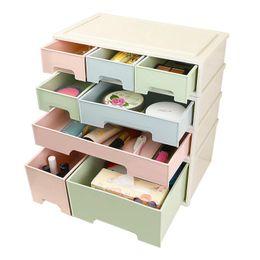 $enCountryForm.capitalKeyWord Australia - Hoomall Creative Storage Box Combinable Desktop Makeup Organizer Container Cosmetic Jewelry Box Drawer Home Sundries Holder