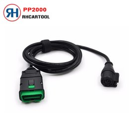 Discount code lexia 2017 Best Price Lexia3 main Cable 16pin Diagnostic Interface 16 pin OBD obd II connector for lexia 3 PP2000 Interface
