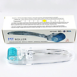 $enCountryForm.capitalKeyWord Canada - Titanium Derma Roller MT Micro-Needle Dermaroller 192 Needles For Wrinkle Acne Scar Dark Circle Firming 0.2MM-3.0MM