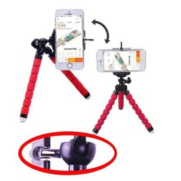 China MOQ 2pcs Mini Flexible Camera cell Phone Holder Flexible Octopus Tripod Bracket Universal Stand Holder Mount Monopod Styling Accessories suppliers