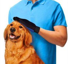 Pet щетка для чистки собака гребень резиновые / TPE перчатки ванна рукавицы Pet собака и кошка массаж удаление волос Уход магия Deshedding перчатки