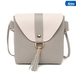 Discount cute tassels phone - Hot Sale Tassel Ring Messenger Bags Cute Candy Color Crossbody Bags For Women Fashion Mini Phone Bolsa Feminina