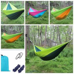 250 140cm outdoor hammock garden camping sports home travel garden hang bed double person leisure travel parachute hammocks kka4181 wholesale camping hammock nz   buy new wholesale camping hammock      rh   nz dhgate