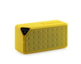 China Mini Bluetooth Speaker X3 Mini Cube Wireless Bluetooth Speaker Support USB Flash Drive TF Card LINE-IN cheap mini cube speakers suppliers