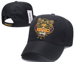 Дизайнер европейский американский бренд Париж Тигр шапка кенз шляпа бейсболка вышитые кости мужчины женщины casquette Sun gorras мода Cap 005
