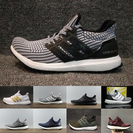 b621f2116d727 2018 Ultraboost 3.0 4.0 Running Shoes Uncaged 3.0 III Primeknit White Black  Men Women Athletic Shoes Size 36-47 free shipping