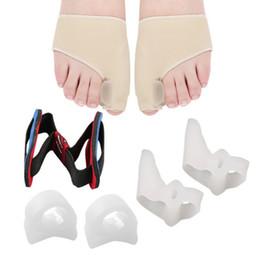4 pz Alluce Valgo Correttore Plantari Piedi Cura Bone Pollice Regolatore Correzione Pedicure Calzini Caviglia protezione del piede tuta in Offerta