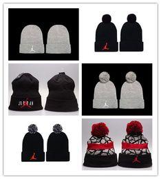 Cheap Winter Beanies NZ - New Design Hip hop Beanies cheap Pom Beanie hats Wool Cap Autumn Winter caps Sprot men hat Woolen Hat diamond skull caps