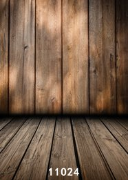 background paintings NZ - Wooden wall wooden door 5X7ft fotografica backdrops vinyl cloth photography backgrounds wedding children baby backdrop for photo studio 024